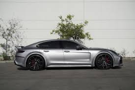 new porsche panamera 2017 new porsche panamera wears techart widebody kit and forgiato
