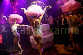 burlesque entertainment funky edgey themed entertainment for