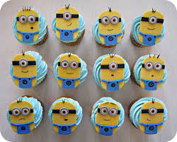 minion cupcakes minion cupcakes by cake4thought on deviantart