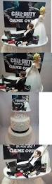 wedding cakes toppers new funny wedding cake topper video game