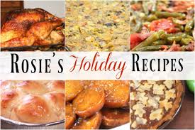 Soul Food Thanksgiving Dinner Menu Rosie S Collection Of Recipes I Recipes