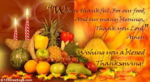 free thanksgiving greetings you a blessed thanksgiving