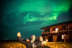 the northern lights inn northern lights hotel ranga iceland even just a bit clo flickr