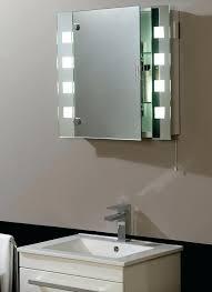 Mirrored Bathroom Cupboard Bathroom Cabinet With Light And Mirror Aeroapp