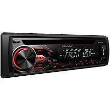 pioneer deh x1810ub am fm cd usb car stereo walmart com
