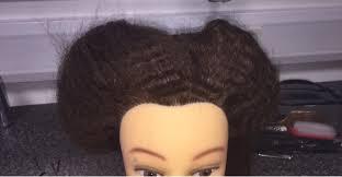 the hair grip hair design padding the hair practical