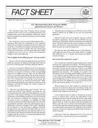 Real Estate Information Sheet Template by Maximum Base Rent Program New York State Homes And