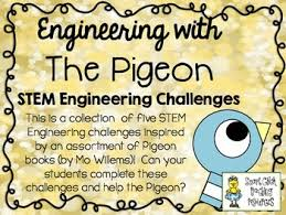 Challenge In Mo Stem Engineering Challenge Picture Book Pack The Pigeon Books