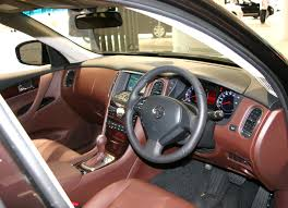 nissan skyline interior file nissan skyline crossover brown interior jpg wikimedia commons