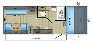 jayco travel trailers floor plans jayco floor plans jayco hummingbird 17rk micro light teardrop