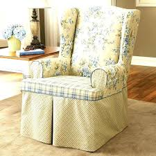 wing chair slipcover reclining wing chair reclining wing chair slipcover armchair covers