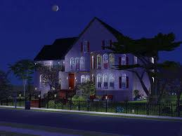 mod the sims wishing stone avenue a two story house with three