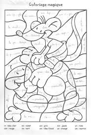 coloriage magique le son in souris et tortue 001 jpg image jpeg