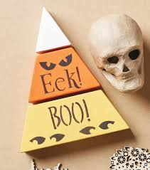 halloween wood blocks how to make a halloween candy corn wood blocks joann