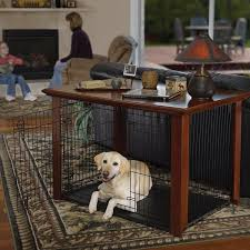 Diy End Table Dog Crate by Best 25 Dog Crate Cover Ideas On Pinterest Dog Kennel Cover