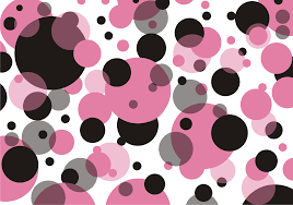 best free polka dots pattern vector cdr