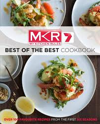 booktopia mkr best of the best cookbook by seven network