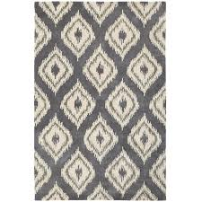 Grey Area Rug 8x10 Flooring Cool And Chic Ikat Rug Design For Your Living Space