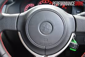 lexus steering wheel logo 2012 toyota 86 gt review video performancedrive