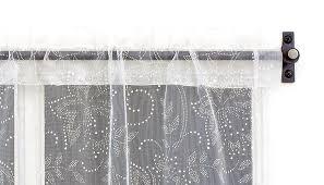 cafe curtain rods homesfeed