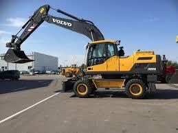 volvo big volvo ew 205 d wheel excavators for sale mobile excavator from