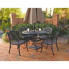 patio sense faustina cast aluminum bistro set hayneedle