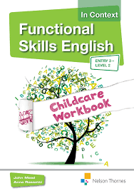 functional skills english in context childcare e3 l2 maths