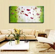 cheap paintings for living room cheap brown orchid modern art deco canvas