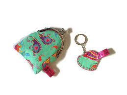 chagne gift set gift set coin purse change purse heart keyring gift for