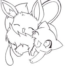 pokemon coloring pages eevee evolutions u2013 wallpapercraft
