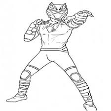 power ranger jungle fury coloring pages funycoloring