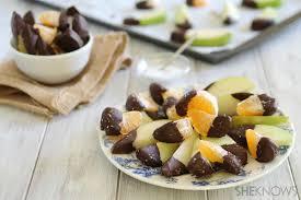 chocolate dipped fruit sea salt chocolate dipped fruit snacks