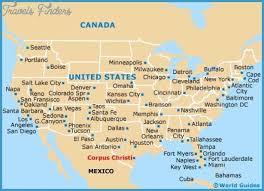map of corpus christi corpus christi map tourist attractions travel map vacations