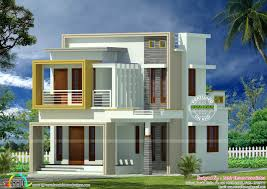 small plot double storied contemporary home kerala home design