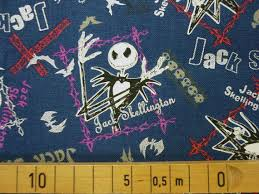 nightmare before fabric by the yard x