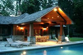 pool house cool house ideas view in gallery custom contemporary pool house