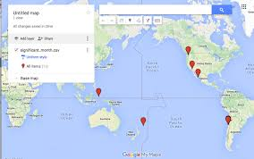 Google Fusion Tables Map A Quick Guide To Turning A Spreadsheet Into An Interactive Map