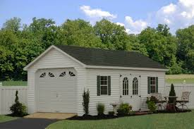 1 Car Prefab Garage One Car Garage Horizon Structures Prefabricated Garages In Pa One Car Garages Nj Ny Ct Single Car