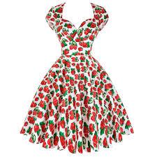 online get cheap woman strawberry pattern dress aliexpress com
