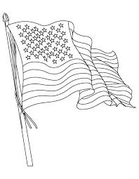 us flag coloring pages the american flag coloring page download free the american flag