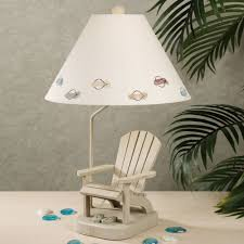 tropical themed lamps part 17 shop nautical coastal table