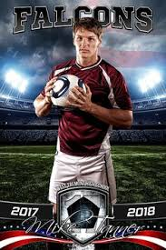 player banner sports photo template american soccer photoshop