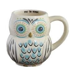 owl mug fireworks gallery kitchen dining coffee mugs tea cups