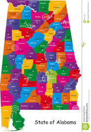 Alabama State Map Alabama State Image Gallery Hcpr