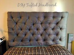 bedroom stunning diy button tufted headboard flickr photo