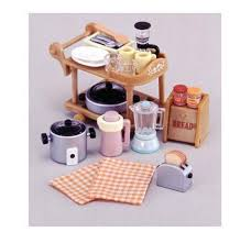 ebay kitchen appliances epoch sylvanian families ka 407 kitchen appliances set ebay