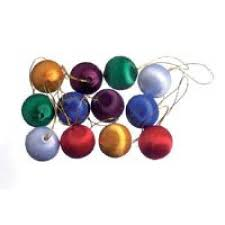 assorted miniature satin ornaments ornaments