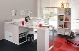 chambre ado gautier gautier dimix lit enfant avec de nombreux rangements intégrés
