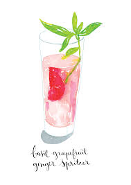 old fashioned cocktail illustration watercolor cocktails made with love and watercolor