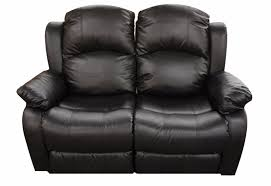 Loveseat Recliners Classic 2 Seat Bonded Leather Double Recliner Loveseat Walmart Com